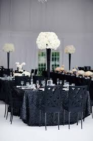 white party table decorations black and white decorations black and white table decorations