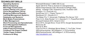 Computer Skills On A Resume Amazing How To List Your Computer Skills On A Resume 24 With