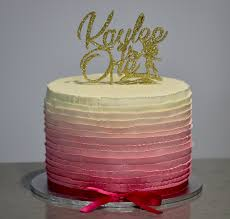 ombre ribbon ombre ribbon cake the baking angel