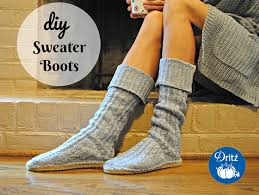 sweater boots diy sweater boots with dritz espadrilles soles