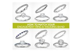 solitaire engagement ring with wedding band wedding ring sets match your engagement ring wedding band