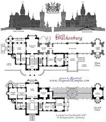 architectural plans splendid design architectural designs castle 3 highclere floor