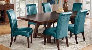 Teal Dining Room Chairs Teal Dining Room Chairs 117 In Remodel 8 Visionexchange Co