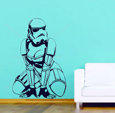 sexy storm trooper women star wars adult bedroom decor vinyl wall sexy storm trooper women star wars