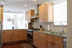 Kitchen Contemporary Cabinets Mocha Maple Kitchen Cabinet Kitchen Contemporary With Shaker