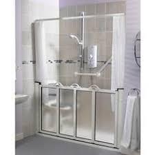 Ada Shower Door Walk In Half Height Shower For D Pinterest Disabled Bathroom