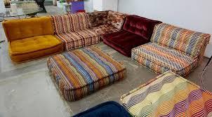 mah jong sofa by roche bobois at 1stdibs