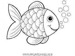 preschool rainbow fish coloring sheet print free creative