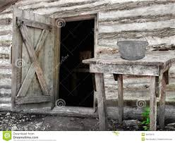 open log door stock photo image 16060030