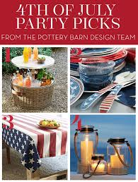 Pottery Barn Paddles 4th Of July Party Picks And Tips From The Pottery Barn Design Team