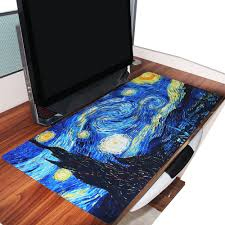 giant mouse pad for desk galaxy prints extended large rubber wide gaming mouse pad big size