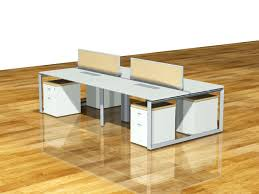 Media Storage Pedestal Diamond Desk Suite With Glass Divider Screen Features Mobile