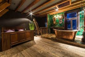 mayer manor a very special stay in amsterdam bedroom with freestanding copper bathtub