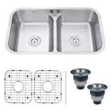 Undermount Stainless Steel Kitchen Sink by Oval Stainless Steel Kitchen Sinks Kitchen The Home Depot