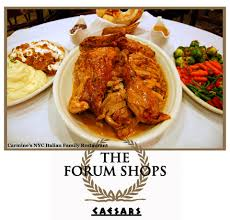thanksgiving bites and tasty tidbits at the forum shops at caesars