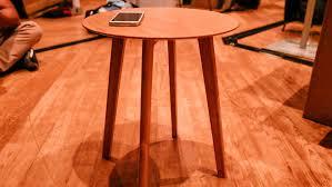 Wireless Charging Table Fonesalesman Furniqi Wireless Charging Side Table Release Date