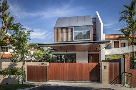 Awesome House Architecture Ideas Awesome Semi Detached Far Sight House In Singapore By Wallflower