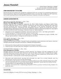 sample resume for business analyst entry level sample resume for