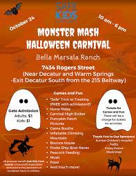 monster mash halloween carnival safe kids clark county