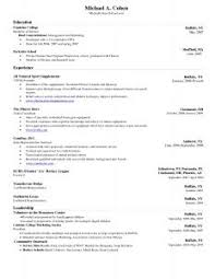 Top Resume Sample by Free Resume Templates 89 Appealing Doc Format 1 Page U201a Attractive