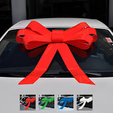 bows for cars presents cardealerstuff bows for cars magnetic or suction