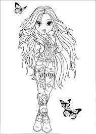coloring pages for kids free images moxie girls free coloring