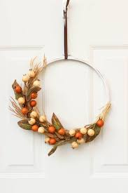 fall wreath ideas 15 welcoming and easy diy fall wreath ideas on the day