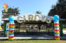 circus balloon party decorations miami frozen party decorations balloons
