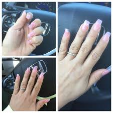 long nails look real nice thanna did a fabulous job with a pink