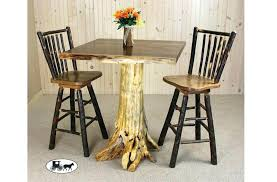 Rustic Bistro Table And Chairs Rustic Pub Table Sets Rustic 3 Pub Set Rustic Bistro Table