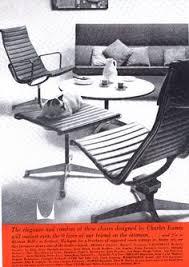 siege eames détails sur publicite advertising 094 1966 samcom meubles