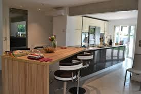 cuisine en longueur beautiful cuisine ouverte ilot central 1 comment am233nager une