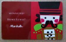 marshall gift card marshalls gift cards ebay