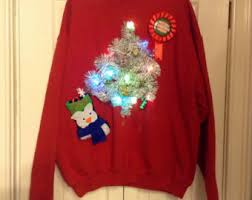 light up sweater etsy