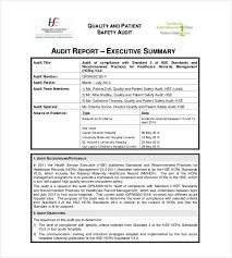 summary report templates 9 free sample example format