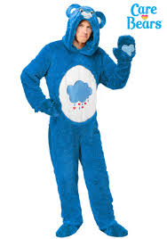 Halloween Costumes Care Bears Care Bears Classic Grumpy Bear Costume Adults