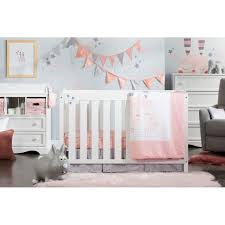 rabbit crib bedding south shore dreamit doudou the rabbit 4 crib bedding set