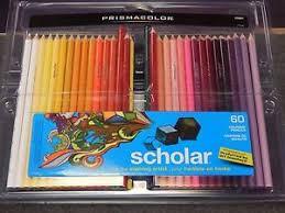 prismacolor scholar colored pencils brand new prismacolor scholar 60 colored pencils 1819999 ebay