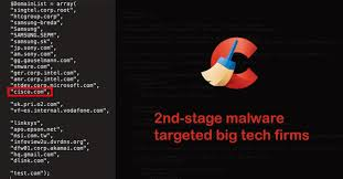 ccleaner malware version ccleaner malware infects big tech companies with second backdoor
