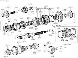 4 speed transmission rebuild kit 75 84 land cruiser fj40 fj60