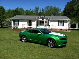 synergy green camaro ss for sale sell used synergy green camaro 2ss rs in ivor virginia united