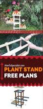 Free Woodworking Plans Easy by Free Plant Stand Plans Learn How To Build A Tiered Plant Stand