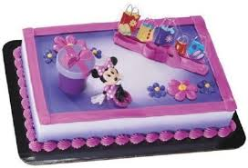 Sheet Cake Decoration Minnie Mouse Cake Decorations Ebay