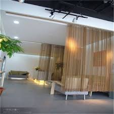 Metal Coil Drapery Metal Decorative Screen And Room Dividers