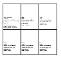 printable baseball card template baseball card template by ella frazier teachers pay teachers