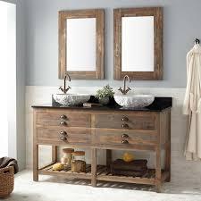 Knotty Pine Vanity Cabinet Vessel Sink Vanities Signature Hardware
