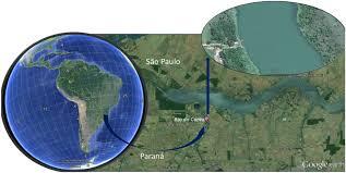 Parana River Map Assessment Of Benthic Macroinvertebrates At Nile Tilapia
