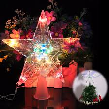 led tree topper lightshow 17 91 in lighted projection tree topper