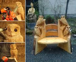 owl wood carving wonderful diy wood carving owl