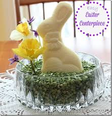 Homemade Easter Decorations Centerpiece by Easy Easter Centerpiece Southern Living Copycat Easter